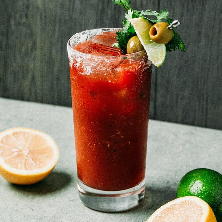 bloody mary hair of the dog